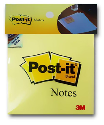 Giấy Note 3M Post-it® Vàng 76mm X 76mm 654 (3x3)