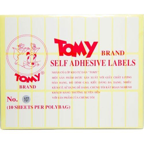 Giấy Decal Tomy 107