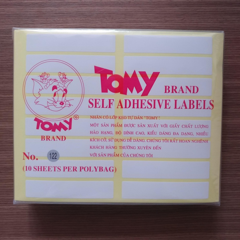 Giấy Decal Tomy 122